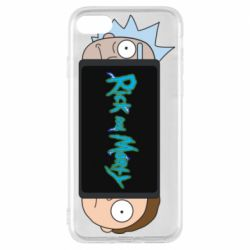 Чехол для iPhone 7 Rick and Morty Game Console