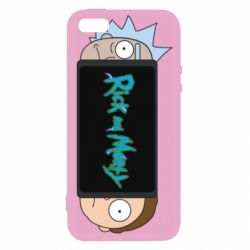 Чехол для iPhone5/5S/SE Rick and Morty Game Console