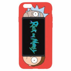 Чехол для iPhone 6/6S Rick and Morty Game Console
