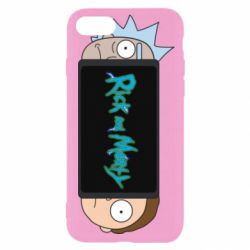 Чехол для iPhone 8 Rick and Morty Game Console