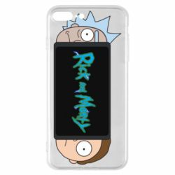 Чехол для iPhone 8 Plus Rick and Morty Game Console