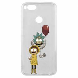 Чехол для Xiaomi Mi A1 Rick and Morty: It 2