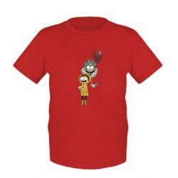 Детская футболка Rick and Morty: It 2