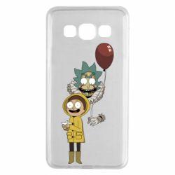 Чехол для Samsung A3 2015 Rick and Morty: It 2