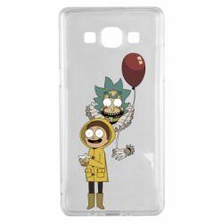 Чехол для Samsung A5 2015 Rick and Morty: It 2