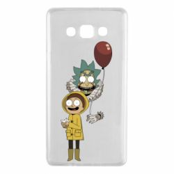 Чехол для Samsung A7 2015 Rick and Morty: It 2