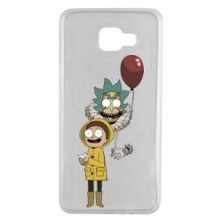 Чехол для Samsung A7 2016 Rick and Morty: It 2