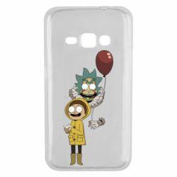 Чехол для Samsung J1 2016 Rick and Morty: It 2