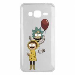 Чехол для Samsung J3 2016 Rick and Morty: It 2
