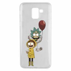 Чехол для Samsung J6 Rick and Morty: It 2