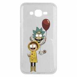 Чехол для Samsung J7 2015 Rick and Morty: It 2