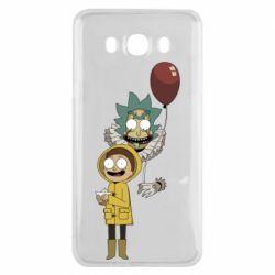 Чехол для Samsung J7 2016 Rick and Morty: It 2