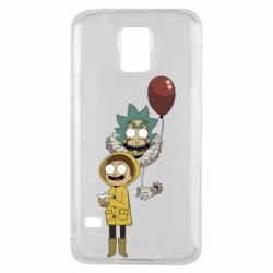 Чехол для Samsung S5 Rick and Morty: It 2