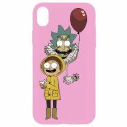 Чехол для iPhone XR Rick and Morty: It 2