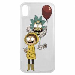 Чехол для iPhone Xs Max Rick and Morty: It 2