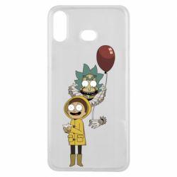 Чехол для Samsung A6s Rick and Morty: It 2