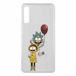 Чехол для Samsung A7 2018 Rick and Morty: It 2