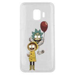Чехол для Samsung J2 Core Rick and Morty: It 2
