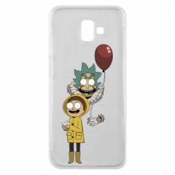 Чехол для Samsung J6 Plus 2018 Rick and Morty: It 2