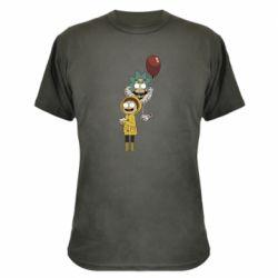 Камуфляжная футболка Rick and Morty: It 2