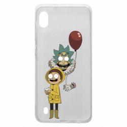 Чехол для Samsung A10 Rick and Morty: It 2