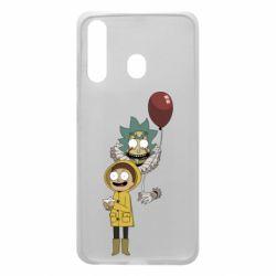 Чехол для Samsung A60 Rick and Morty: It 2