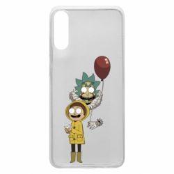 Чехол для Samsung A70 Rick and Morty: It 2