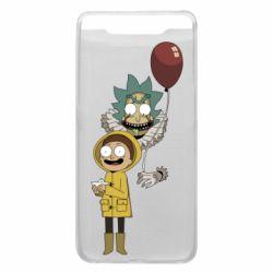 Чехол для Samsung A80 Rick and Morty: It 2