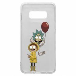 Чехол для Samsung S10e Rick and Morty: It 2