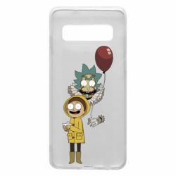 Чехол для Samsung S10 Rick and Morty: It 2