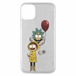 Чехол для iPhone 11 Pro Rick and Morty: It 2