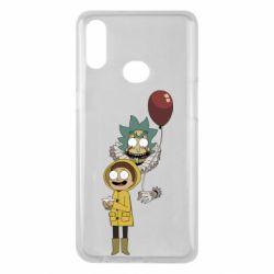 Чехол для Samsung A10s Rick and Morty: It 2