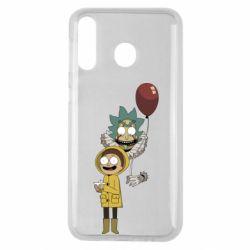Чехол для Samsung M30 Rick and Morty: It 2