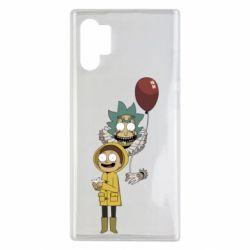 Чехол для Samsung Note 10 Plus Rick and Morty: It 2