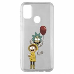 Чехол для Samsung M30s Rick and Morty: It 2