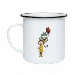 Кружка эмалированная Rick and Morty: It 2