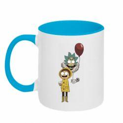 Кружка двухцветная 320ml Rick and Morty: It 2