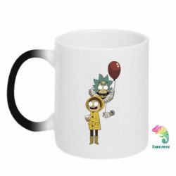 Кружка-хамелеон Rick and Morty: It 2