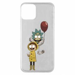 Чехол для iPhone 11 Rick and Morty: It 2