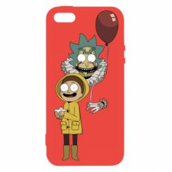 Чехол для iPhone5/5S/SE Rick and Morty: It 2