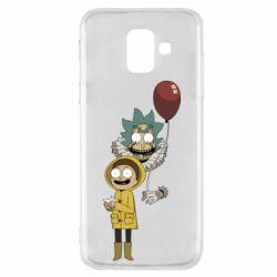 Чехол для Samsung A6 2018 Rick and Morty: It 2