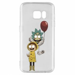 Чехол для Samsung S7 Rick and Morty: It 2
