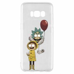 Чехол для Samsung S8 Rick and Morty: It 2