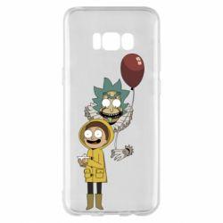 Чехол для Samsung S8+ Rick and Morty: It 2