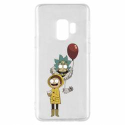 Чехол для Samsung S9 Rick and Morty: It 2