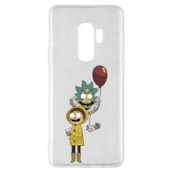Чехол для Samsung S9+ Rick and Morty: It 2