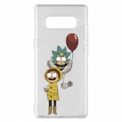 Чехол для Samsung Note 8 Rick and Morty: It 2