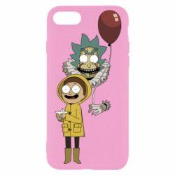 Чехол для iPhone 8 Rick and Morty: It 2