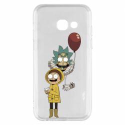 Чехол для Samsung A3 2017 Rick and Morty: It 2
