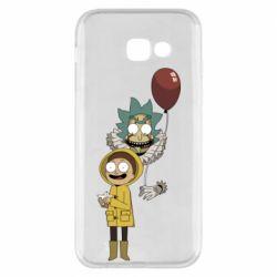 Чехол для Samsung A5 2017 Rick and Morty: It 2